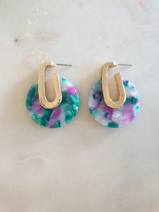 Marion Blue Earrings
