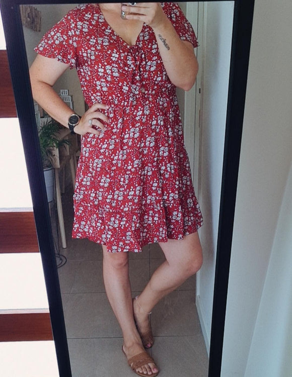 Sherry Floral Sundress