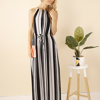 Isabel Black Maxi
