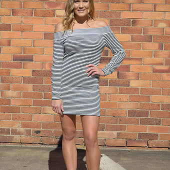 Chloe Striped Dress