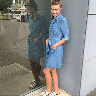 Lauren Denim Dress