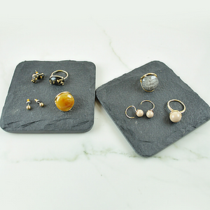 Studs, Earring and Ring Set