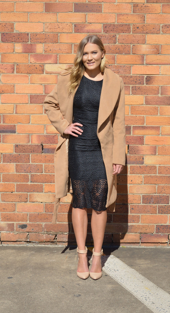 Grace Tan Trench Coat