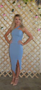 Aria Blue Bodycon Dress