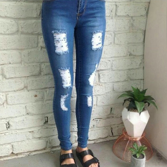 Louise Ripped Jeans