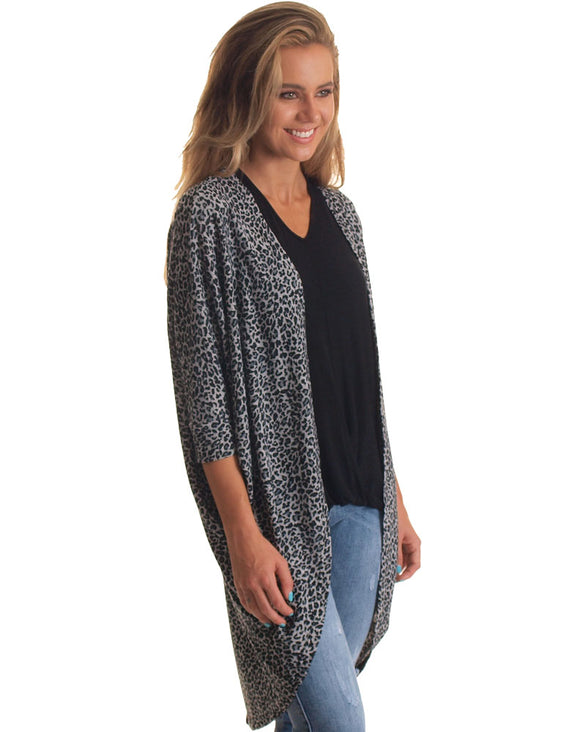 Grey Animal Shrug