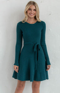 Georgia Teal Dress