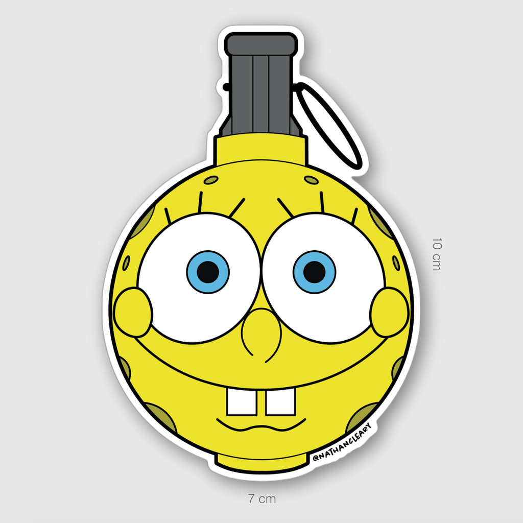 Spongrenade Sticker