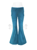 Plain Fleece Super Flare Trousers - TPF Faerie Wear