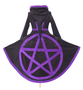 Pentacle hi-low 'Tournedot' Jacket - TPF Faerie Wear