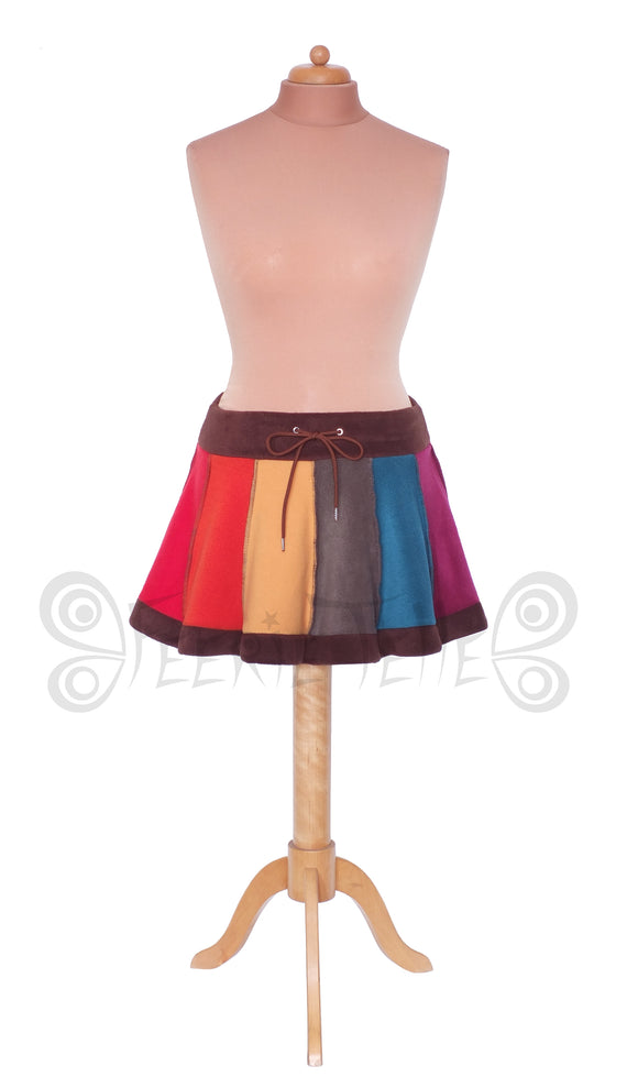 'Telmandolle' Mini skirt - 6 tone - TPF Faerie Wear