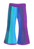 Vertical striped fleece flares - 6 tone - TPF Faerie Wear