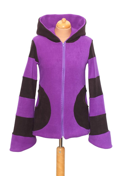 Zip up Arabelle hoodie - 2 tone - TPF Faerie Wear
