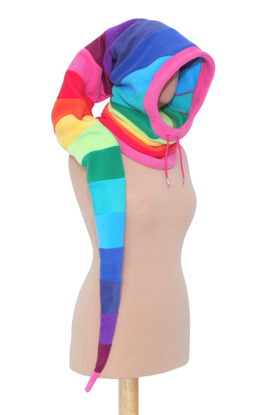 Rainbow long Snoody - TPF Faerie Wear