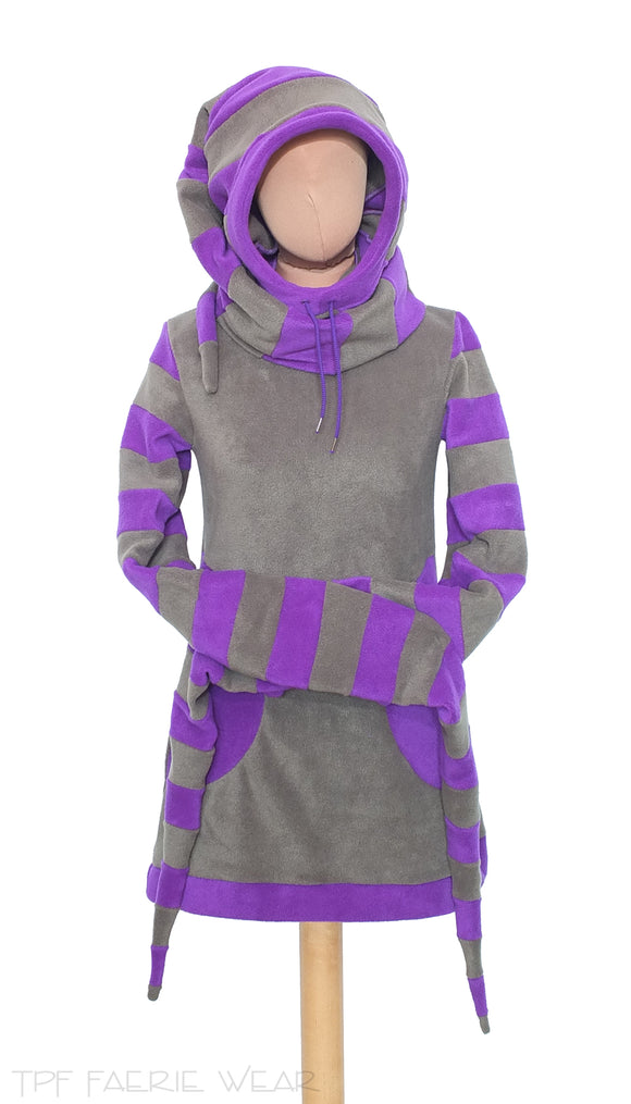 'Arabelle' Hoodie/Dress - 2 tone - TPF Faerie Wear