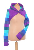 Fleece New Style 'Korrigan' Shrug - 6 tone - TPF Faerie Wear