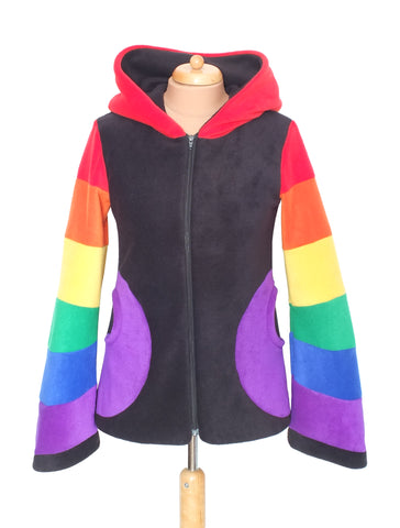 Zip up 'Arabelle' hoodie - 6 Tone - TPF Faerie Wear