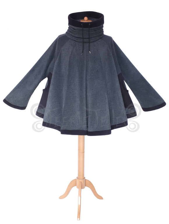 'Dolmantelle' Tunic with cowl hood