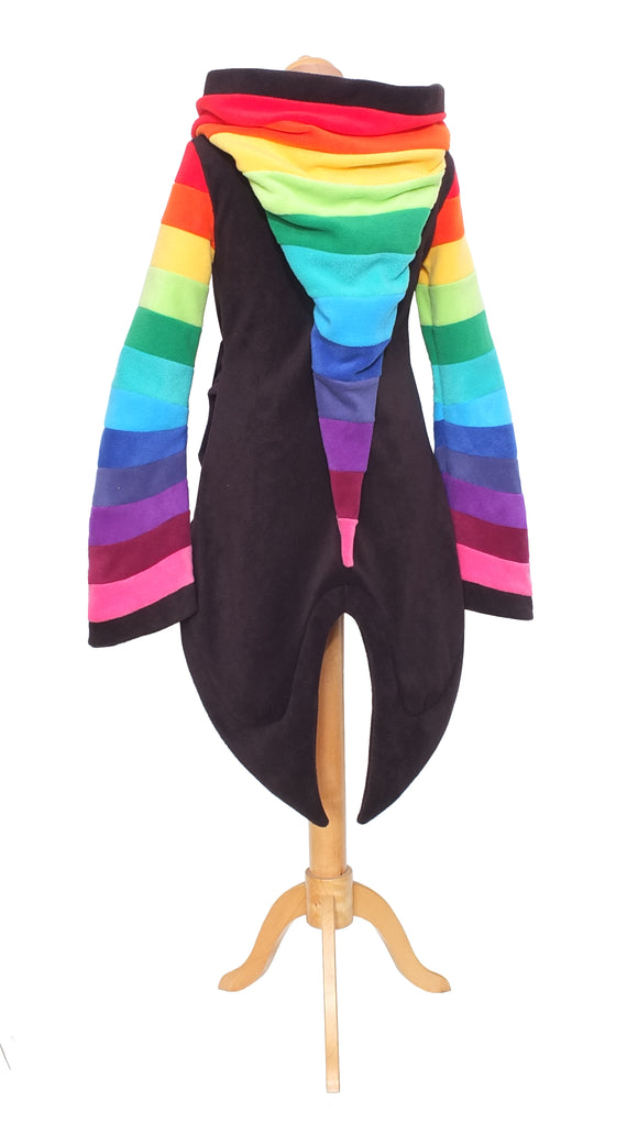 Rainbow 'Azimae' Tail Jacket - TPF Faerie Wear