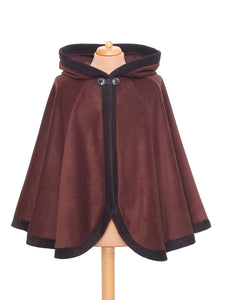 'Dolmantelle' Cloak with large rounded hood - TPF Faerie Wear