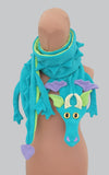 Plain Fleece DRAGON scarf - TPF Faerie Wear