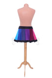 Rainbow 'Telmandolle' Mini skirt - Polar Fleece