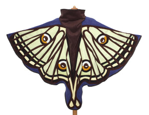 Spanish luna moth cloak - TPF Faerie Wear