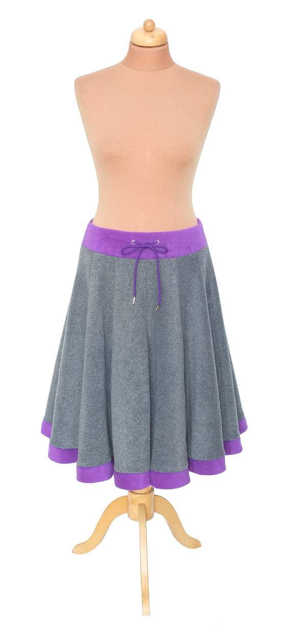 Plain 'Telmandolle' Midi length skirt - TPF Faerie Wear
