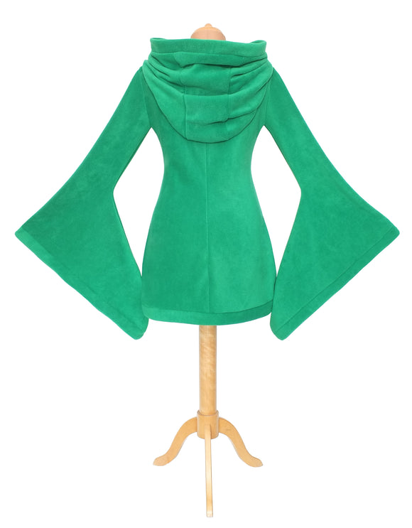 Arabelle dress/hoodie with big rounded hood and sleeves - TPF Faerie Wear