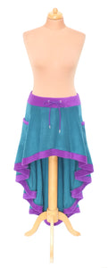 Plain 'Telmandolle' Hi-Low skirt - TPF Faerie Wear