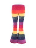 Horizontal striped fleece flares - 6 tone - TPF Faerie Wear
