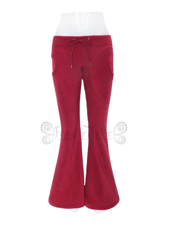 Plain Fleece Flares Trousers - TPF Faerie Wear