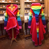 Hi-Low Rainbow 'Tournedot' Jacket - TPF Faerie Wear