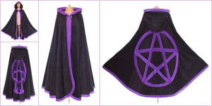 CLEARANCE | Pentacle cloak - TPF Faerie Wear