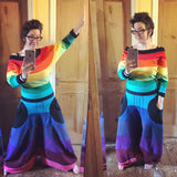 'Harouel' Onesie -Rainbow Fleece - TPF Faerie Wear