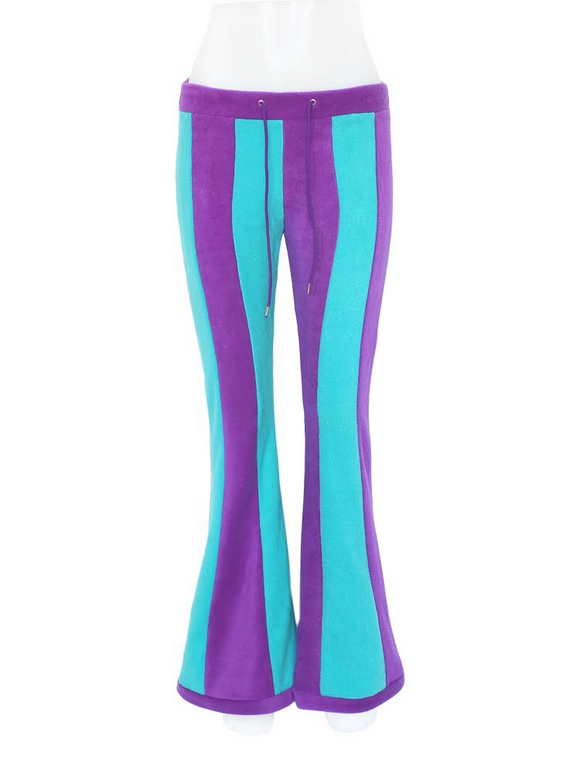 Vertical striped flares - 2 tone - TPF Faerie Wear