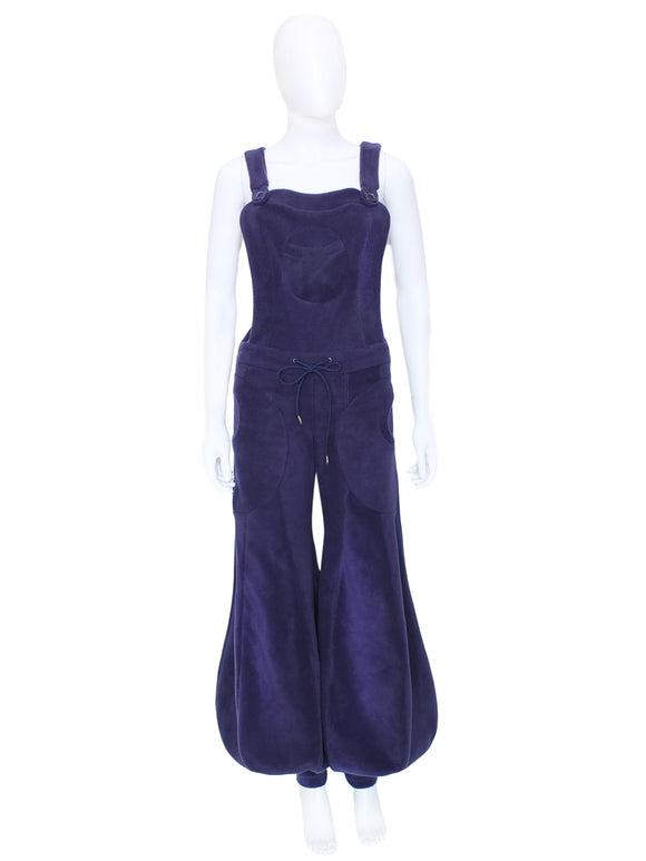 Plain fleece Balloon Dungaree flares - TPF Faerie Wear