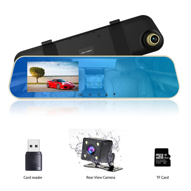 Full HD 1080P Car Dvr Mirror