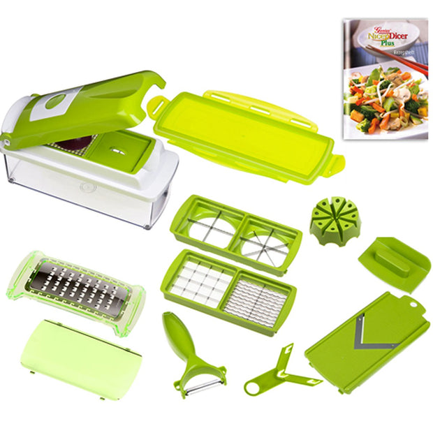 12 In 1 Multi-Purpose Slicer Dincer