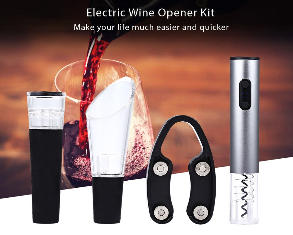 Electric Wine Opener Stainless Steel