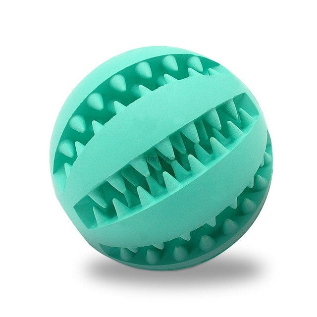 Soft Rubber Chew Ball Toy For Dogs