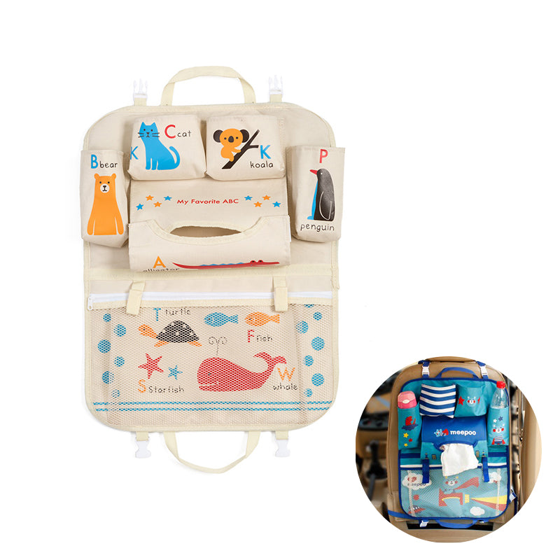 Cartoon Back Seat Organizer