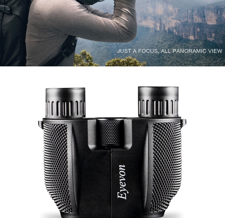 Portable waterproof binoculars