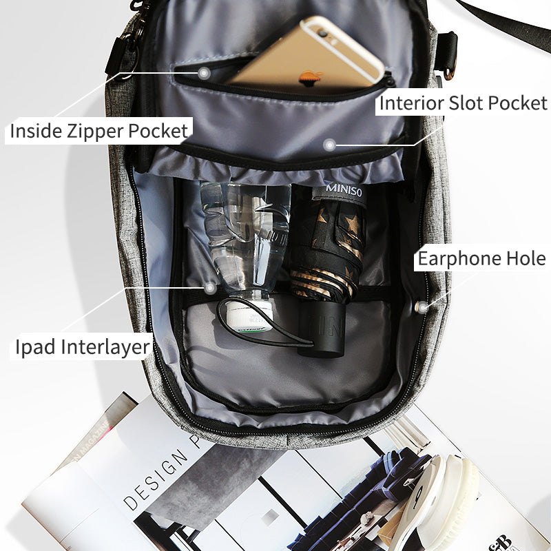 Anti-theft Crossbody Bag