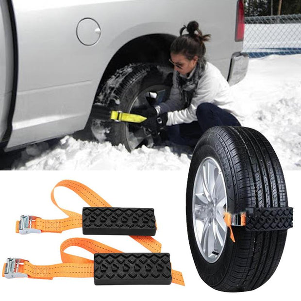 2PCS  Traction Aid Set and Go