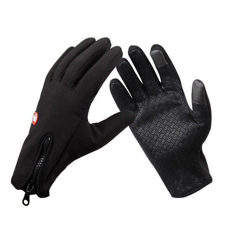 Windproof gloves touch screen