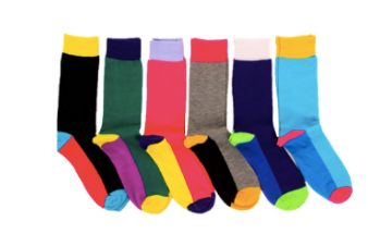 Mens Summer Color Socks