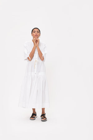 Shirt Dress in organic cotton