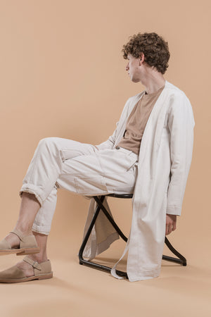 The Aitor Pants White