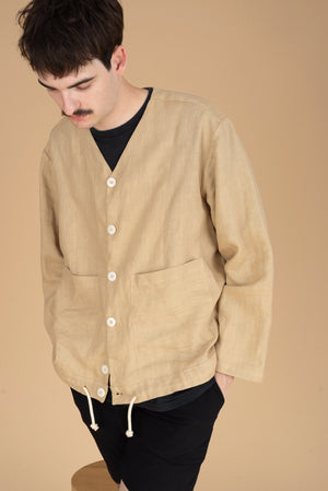 The V-neck Linen Shirt